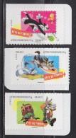 Fête Du Timbre 2009 Personnages Dessins Animés Looney Tunes Des Studios Warner Bros N° 268, 269 Et 270 Neufs Adhésifs - Adhesive Stamps
