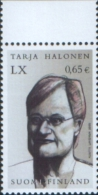 Finlandia Finland 2003 Special Stamp 60th Birthday Of President  Tarja Halonen 1v ** MNH Complete Set - Finlande