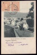 FUNCHAL / MADEIRA / PORTUGAL Postal Tipo Recordação Rua Imperatriz D.M.Amélia.Carro De Bois Para Transporte.Old Postcard - Madeira