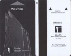 Key Card - Room Key - Sleutelkaart - Clef De Hotel  - Elara Hilton Grand Vacations Club Las Vegas - Hotel Keycards