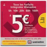 Kit De Connexion Internet - Wanadoo 2003 - Connection Kits
