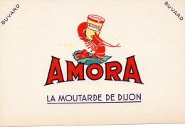 - BUVARD Moutarde AMORA - 390 - Mostard