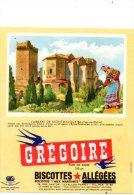 - BUVARD Biscottes GREGOIRE - 396 - Biscottes
