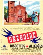 - BUVARD Biscottes GREGOIRE - 398 - Biscottes