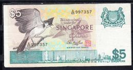 SINGAPUR 1976. 5 DOLARES. MBC. B264 - Singapur