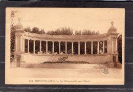 43691    Francia,     Montpellier  -  Le  Monument  Aux  Morts,  VGSB  1931 - Montpellier