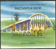 Romania 1990 BF Nuovo** - Mi.264  Yv.210 - Blocchi & Foglietti