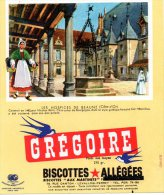- BUVARD Biscottes GREGOIRE - 401 - Biscottes