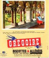 - BUVARD Biscottes GREGOIRE - 402 - Biscottes