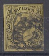 Sachsem Minr.11 Gestempelt Nr.-St. 2 Leipzig - Sachsen