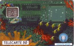 FRANCE PRIVEE 50U GROUPE MORS EN 527 UT  N° 44606 IMP SUPERBE - France