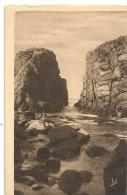 PRESQU ILE DE QUIBERLON---COULOIRS DE PORT-BARA---NON ECRITE-- - Quiberon