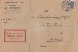 DR Brief  Zustellungsurkunde EF Minr.90I Neustadt 28.1.10 - Deutschland