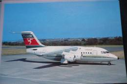 BA 146    MANX AIRLINES   G OJET    JERSEY AIRPORT - 1946-....: Moderne