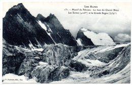 CP, 05, MASSIF DU PELVOUX, Le Haut Du GLACIER BLANC, LES ECRINS...Vierge - France