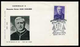 28884) Argentinien - Michel 883 - FDC - Juan Cagliero - FDC