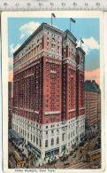 Hotel McAlpin, New York Verlag: Haberman, Postkarte,  Erhaltung: I –II Karte Wird In Klarsichthülle Verschickt.(M) - Hotels & Gaststätten