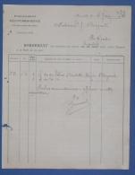 MARSEILLE Etablissements Méditerranéens Transport Fret Bordereau D'expédition 1920 - Boats