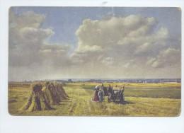 Threshing The Grains, Women And Boy In The Field  K.U.K. FELDJAGERBATAILLON NR. 31   2 SCANS - Bauernhöfe