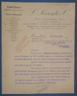 MARSEILLE Transports Maritimes L. LECONTE & Cie Fret 1920 - Boats