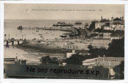 - 31 - ARCACHON - ( Côte D'Argent ), Perspectives Du Boulevard Promenade, Cliché Peu Courant, écrite En 1930, BE, Scans. - Arcachon