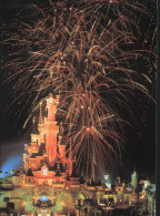 (1860) - Disney - Disneyland Paris - Château, Feu D´artifice - Disneyland