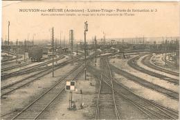 ARDENNES 08.NOUVION SUR MEUSE LUMES TRIAGE POSTE DE FORMATION N°3 - France