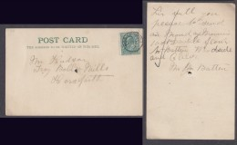 GREAT BRITAIN: EVIIR, 1/2d On Card, HORSFORTH NO 2 03 C.d.s. - 1902-1951 (Kings)