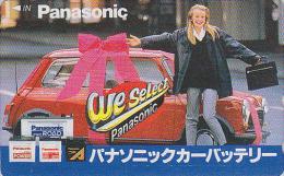 Télécarte Japon - Voiture AUSTIN Mini Cooper & Femme - Car & Girl Japan Phonecard - Auto Telefonkarte - 1025 - Automobili