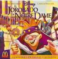 CD Banda De Sonido El Jorobado De Notre Dame - Niños