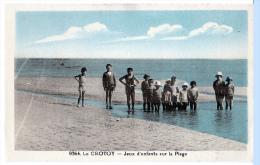 Le Crotoy (Somme) Le Port + La Plage     (LES 2 CARTES) - Le Crotoy