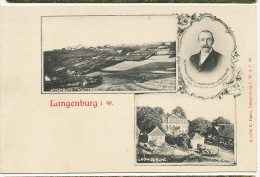 Langenburg I. W. Ludwigsruhe  Hermann Furst Zu Hohehlohe - Germania