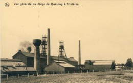 Trivi�res - Charbonnages du Quesnoy - Vue g�n�rale  ( voir verso )