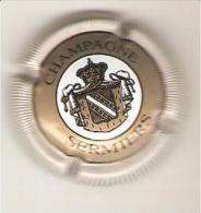 CAPSULE MUSELET CHAMPAGNE SERMIERS (contour Blanc Strié) - Sermiers
