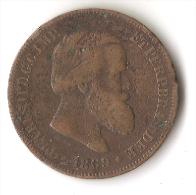 BRESIL  10  REIS     1869 - Brésil