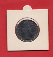 """ITALY. 1977, Circulated Coin XF, 100 Lira Stainless Steel """"R""""  Km96 - 1946-… : Republic"""