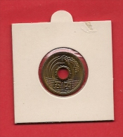 JAPAN.   Circulated Coin VF, 5 Yen Brass, KM72A - Japan