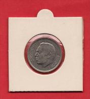 MOROCCO 1974,  Circulated Coin VF, 1 Dirham Copper-nickel, KM63 - Morocco