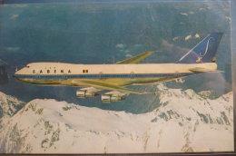 AIRLINE ISSUE / CARTE COMPAGNIE    B 747 SABENA   OO SGA - 1946-....: Modern Era