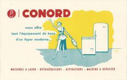 BUVARD  - CONORD - MACHINES A LAVER - REFRIGERATEURS - ASPIRATUERS - MACHINE A REPASSER - Buvards, Protège-cahiers Illustrés