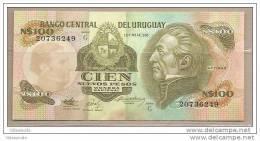 Uruguay - Banconota Non Circolata Da 100 Nuovi Pesos - Uruguay