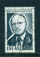 ICELAND - 1978 Hermannsson 150k Used (stock Scan) - Used Stamps