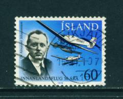 ICELAND - 1978 Domestic Flights 60k Used (stock Scan) - Used Stamps