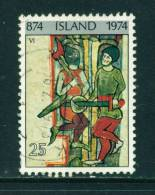 ICELAND - 1974 Icelandic Settlement 25k Used (stock Scan) - Used Stamps