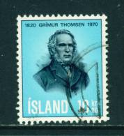 ICELAND - 1970 Thomsen 30k Used (stock Scan) - Used Stamps