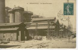 DECAZEVILLE Les Hauts-Fourneaux - 1917  - Bon état - Decazeville