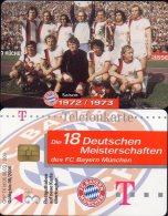 Team Fußball Meister FC Bayern München TK M 06/2003 O 20€ Deutschland Meisterschaft 1972/1973 Soccer Telecard Of Germany - Duitsland