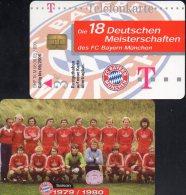 Team Fußball Meister FC Bayern München TK M 08/2003 O 20€ Deutschland Meisterschaft 1979/1980 Soccer Telecard Of Germany - Duitsland