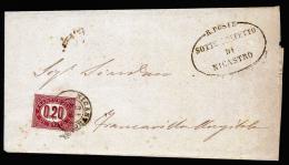 A2429) Italien Italy Brief Von Nicastro 31.3.1875 Mit EF Mi.3 - Dienstpost