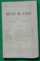 LA REVUE DE PARIS N°11 01 06 1920 LOISEAU LEMAITRE FERRY T SERSTEVENS KANN GUERARD ARMINJON BLANCHE CHAPPEY - Livres, BD, Revues
